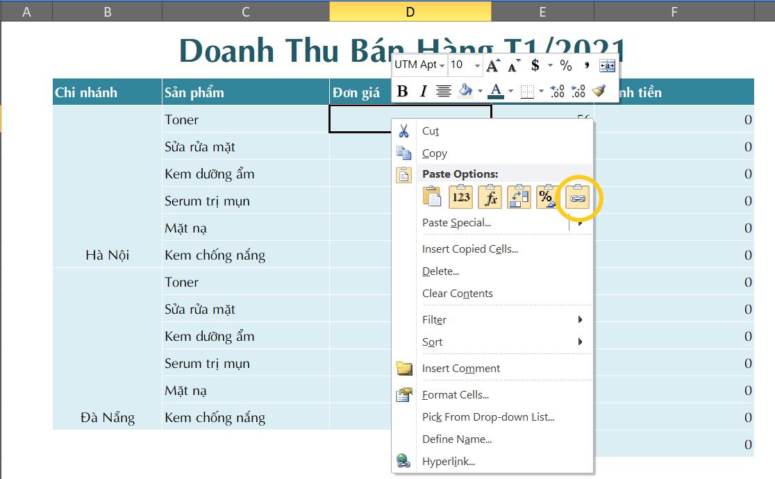 3 cách kết nối dữ liệu giữa 2 sheet trong Excel hiệu quả