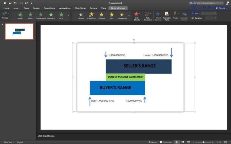 Cách tạo hiệu ứng trong PowerPoint